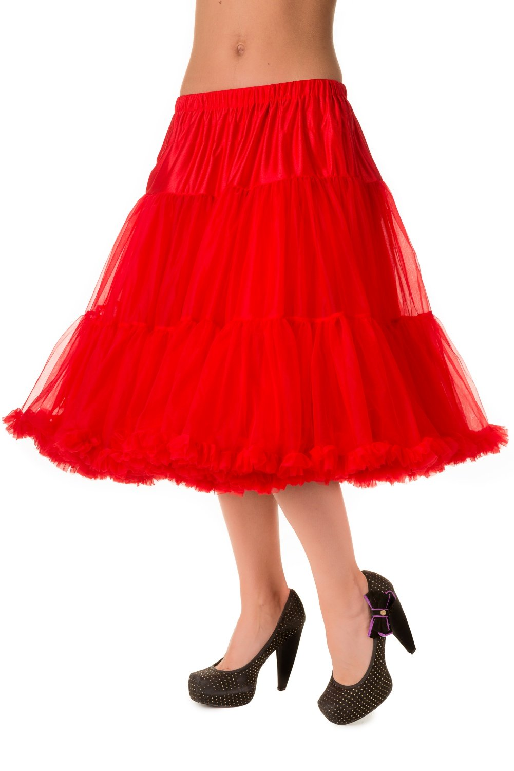 Banned Retro 50s Lizzy Lifeforms Red Petticoat