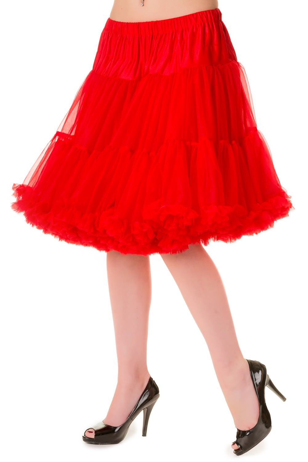 Banned Retro 50s Walkabout Red Petticoat