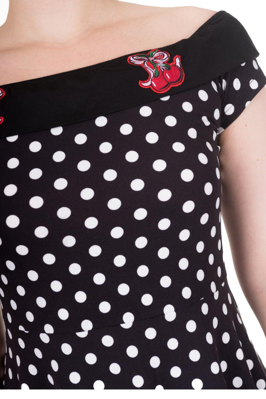Banned Reverly Polka Dot Dress