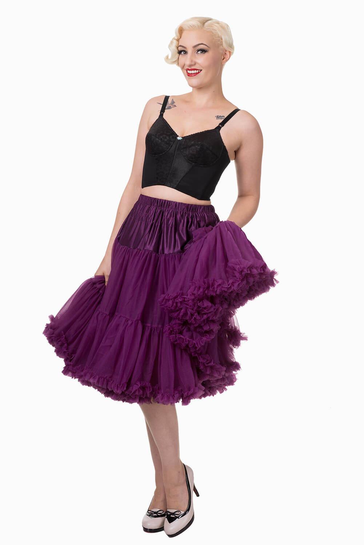 Banned Aubergine Lifeforms Petticoat
