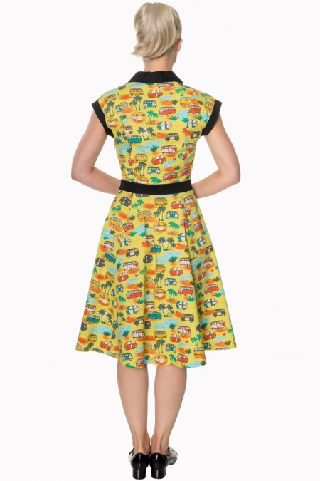 Dancing Days Starlight 50s Campervan Dress