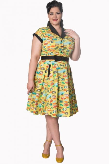 Dancing Days Starlight 50s Campervan Dress