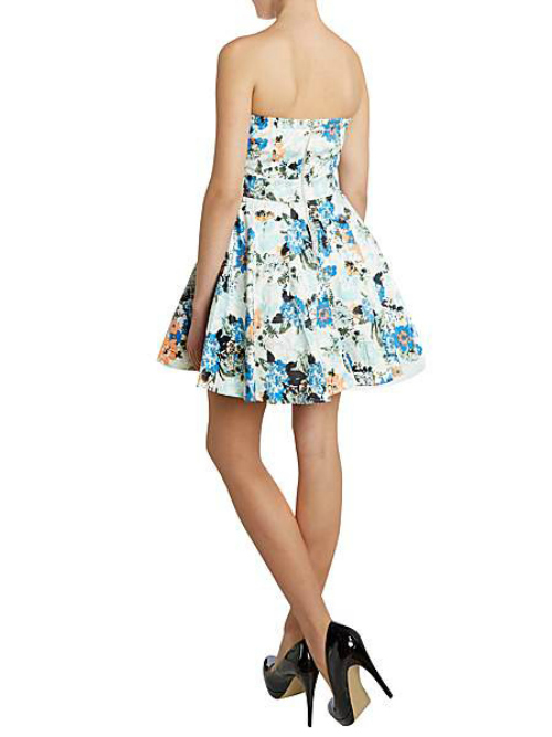 Enlarge TFNC Floral Prom Dress