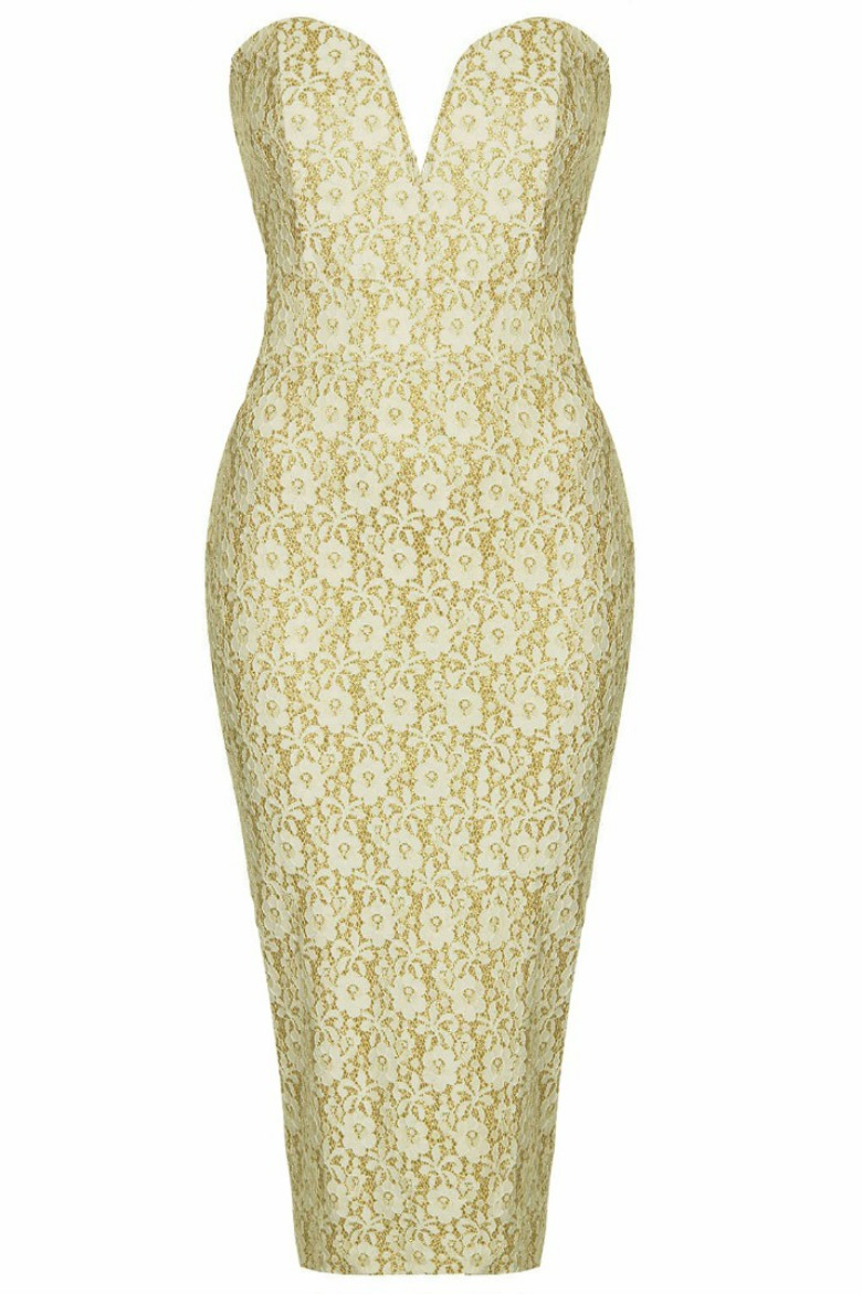 TFNC Halo Lace Midi Dress