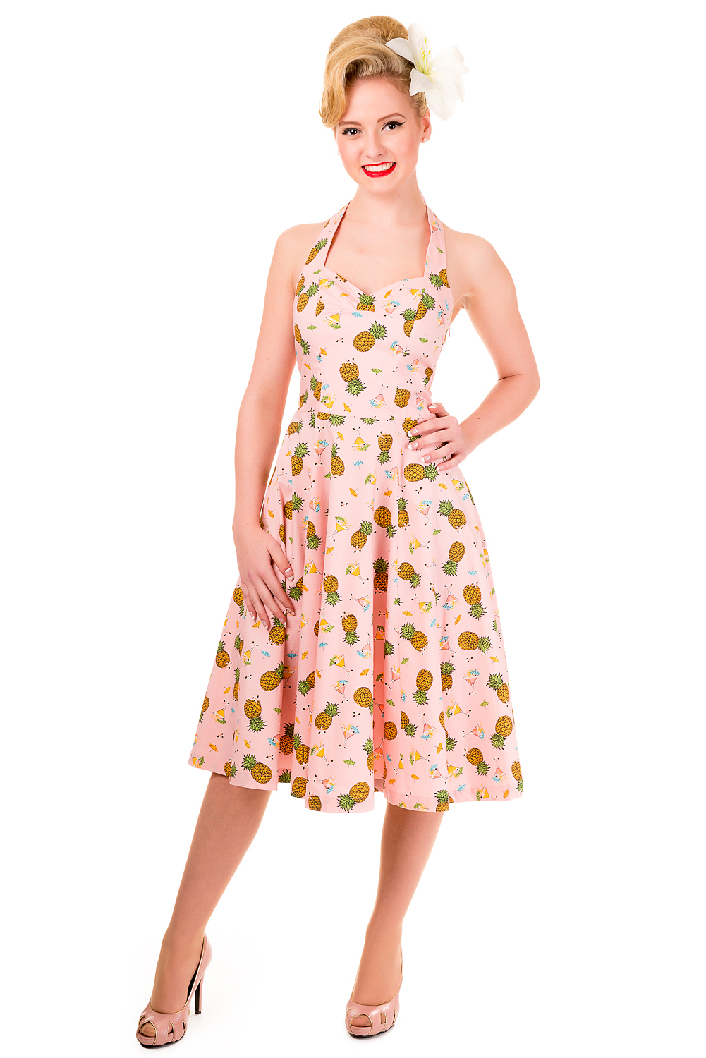 Banned This Love Pineapple Summer Dress Regular Sizing