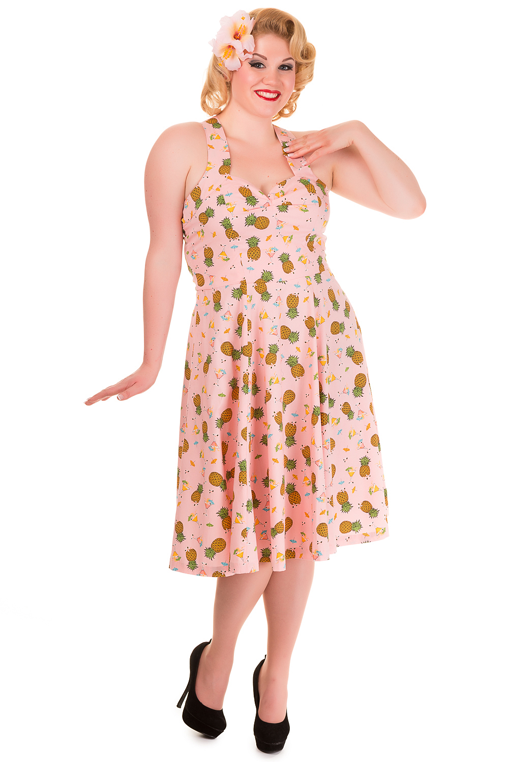 Banned This Love Pineapple Plus Size Dress