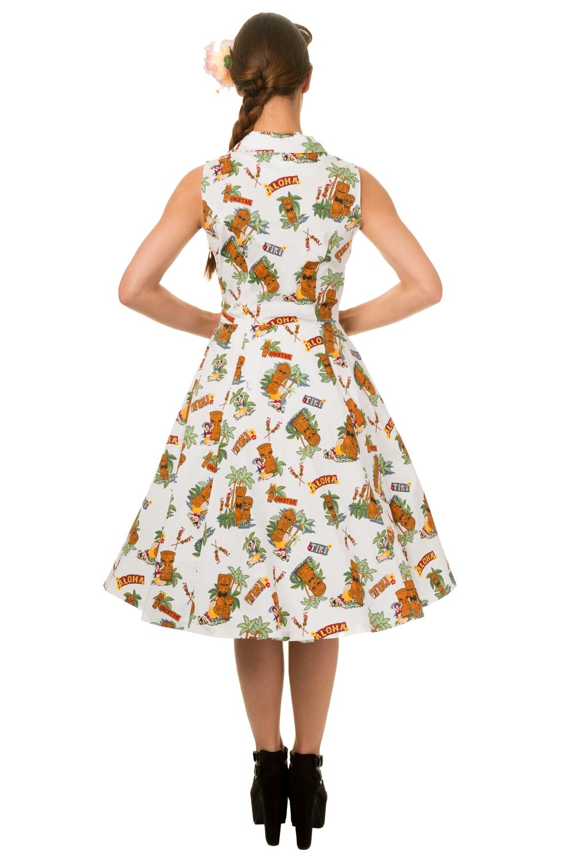 Tiki Vintage Banned Sleeveless Dress