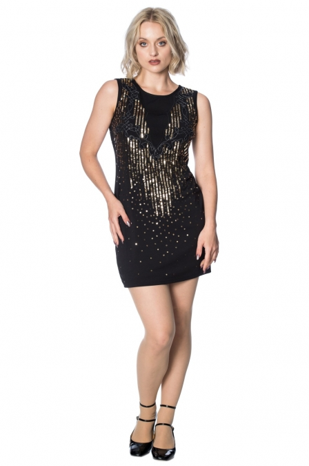 Gatsby Vertical Sequin Dress