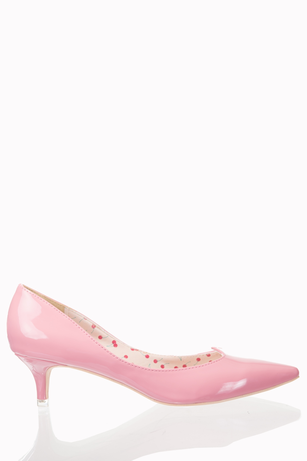 Dancing Days By Banned 1940s Pink Kitten Heels