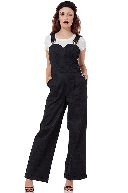Vixen Rosie The Riverter 40s Sweetheart Jumpsuit