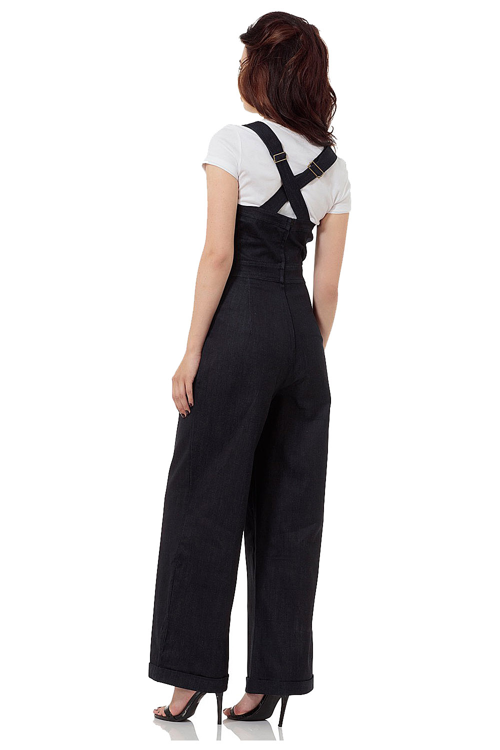 Vixen Rosie The Riverter 40s Sweetheart Jumpsuit