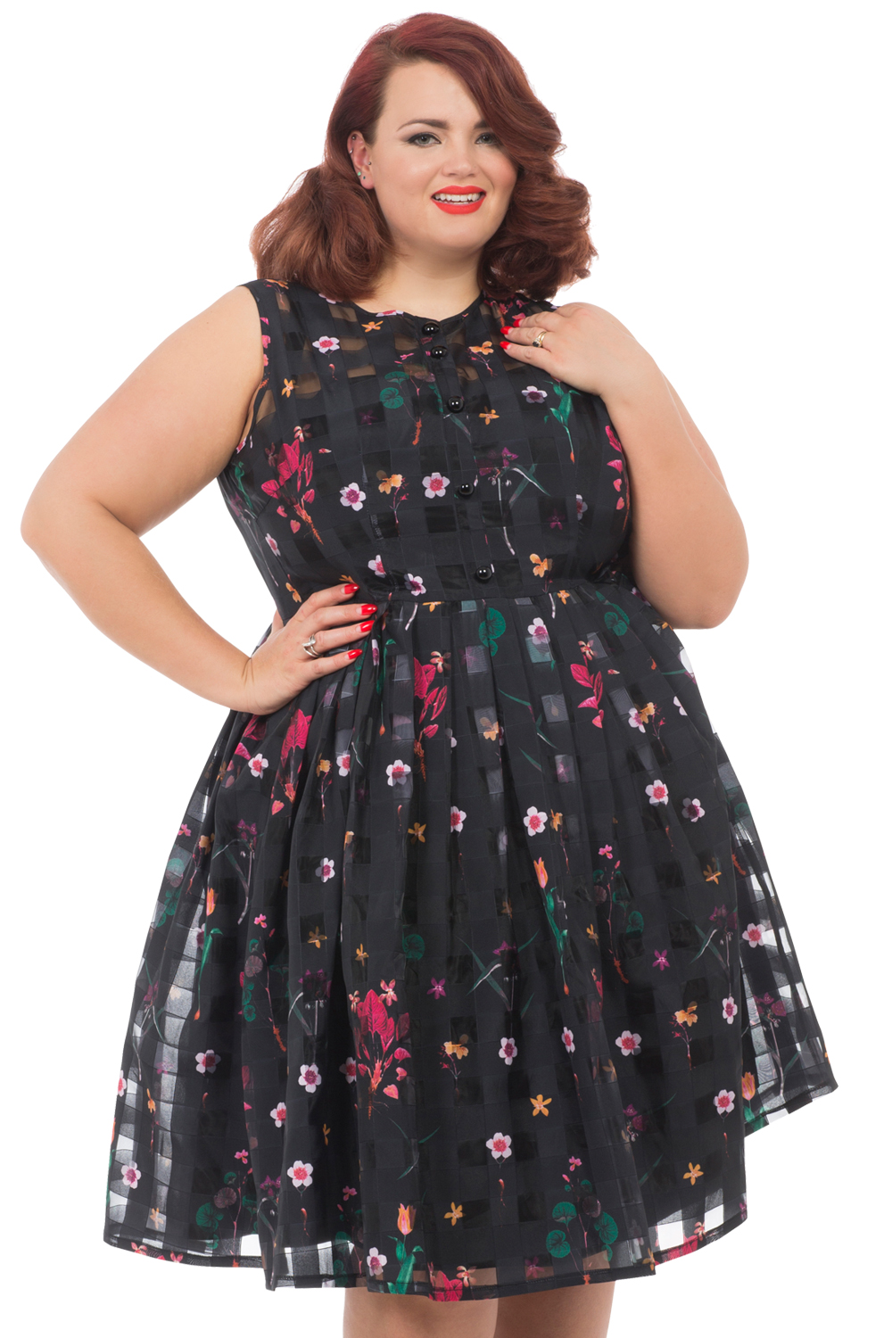 Voodoo Vixen Betsy Plus Size Dress