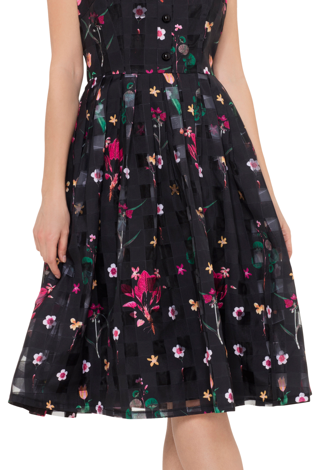 Voodoo Vixen Betsy Dress Zoom