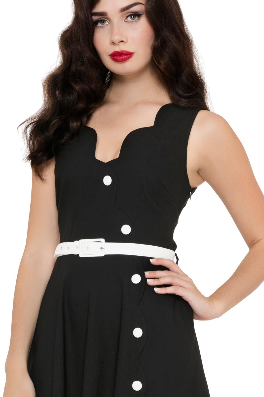 Voodoo Vixen Black Nettie Dress