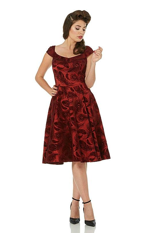 Voodoo Vixen Retro 1950s Blair Dress