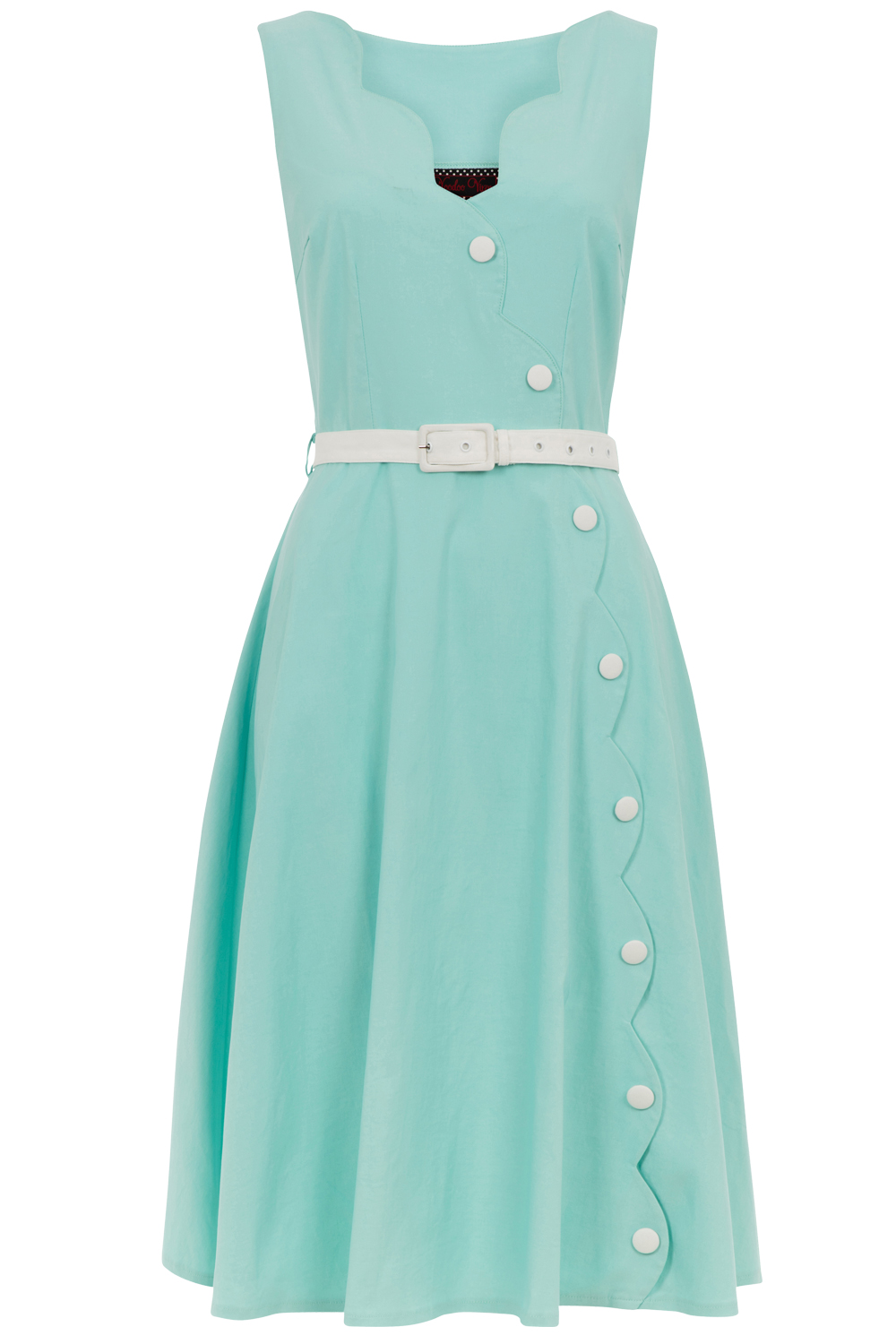 Voodoo Vixen Mint Nettie Dress