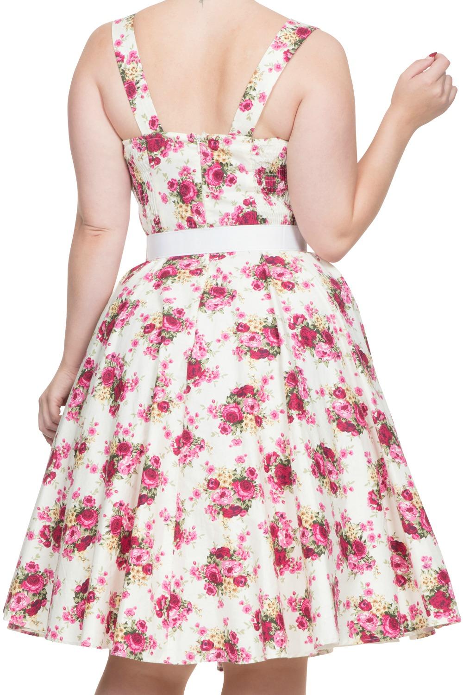 Voodoo Vixen Nicolette 1950s Swing Dress