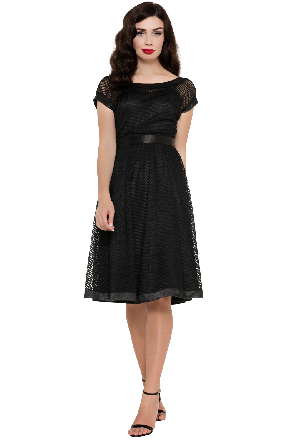 Voodoo Vixen Raye Swing Dress