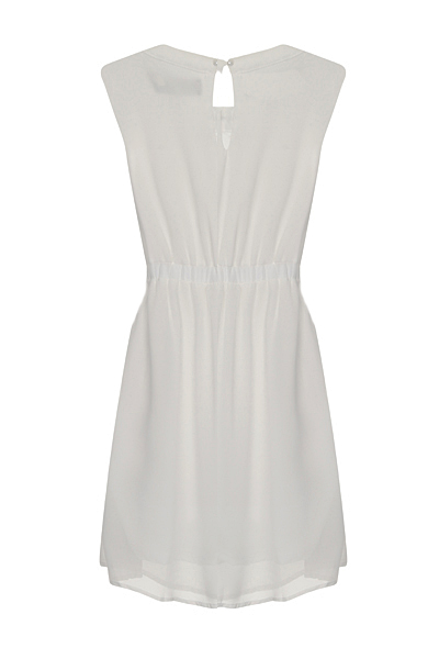 Nazz Collection Hana White Mini Prom Dress