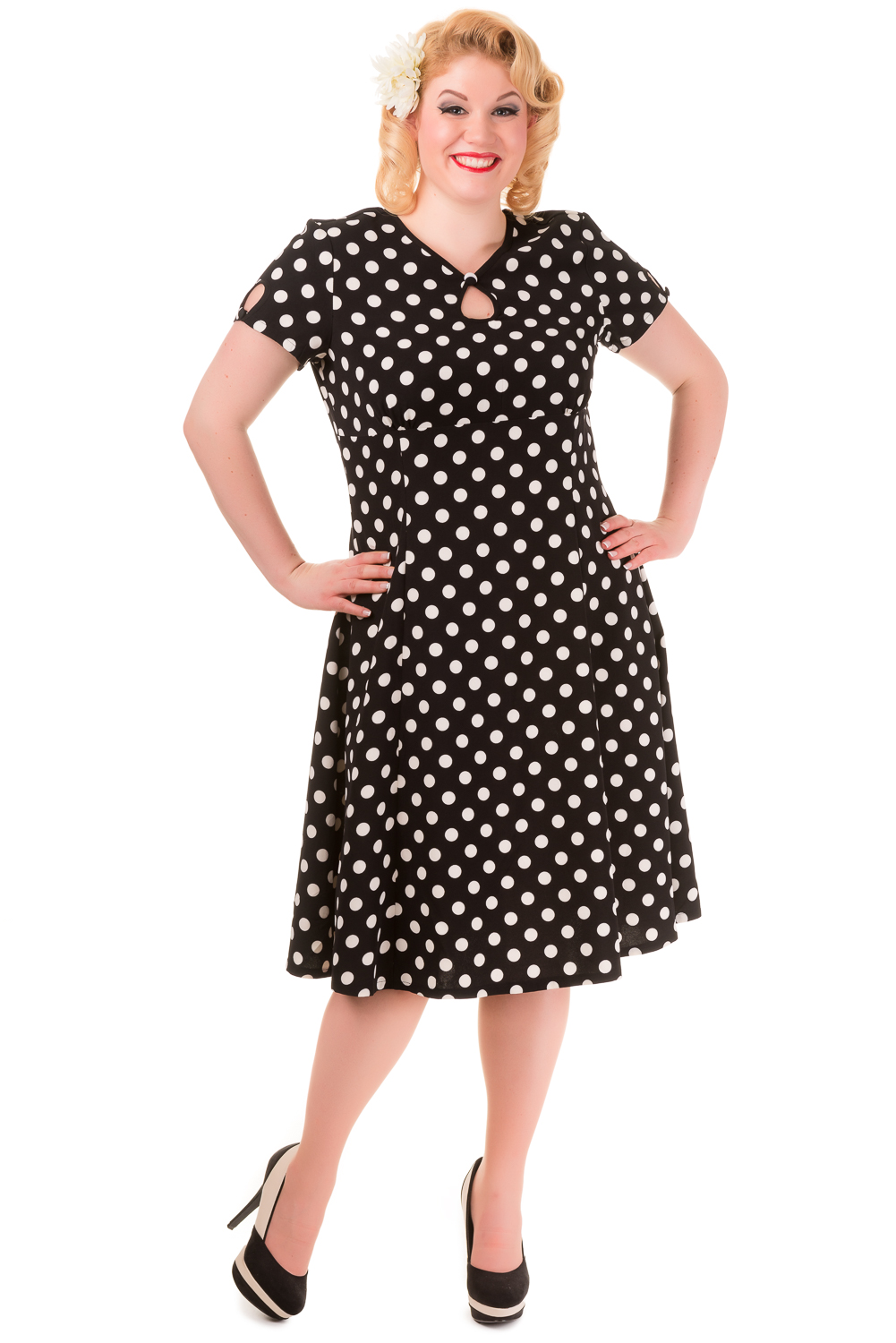 Retro dress plus size uk