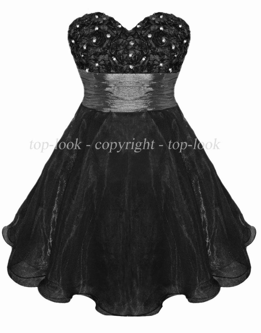 Enlarge Black Prom Dress