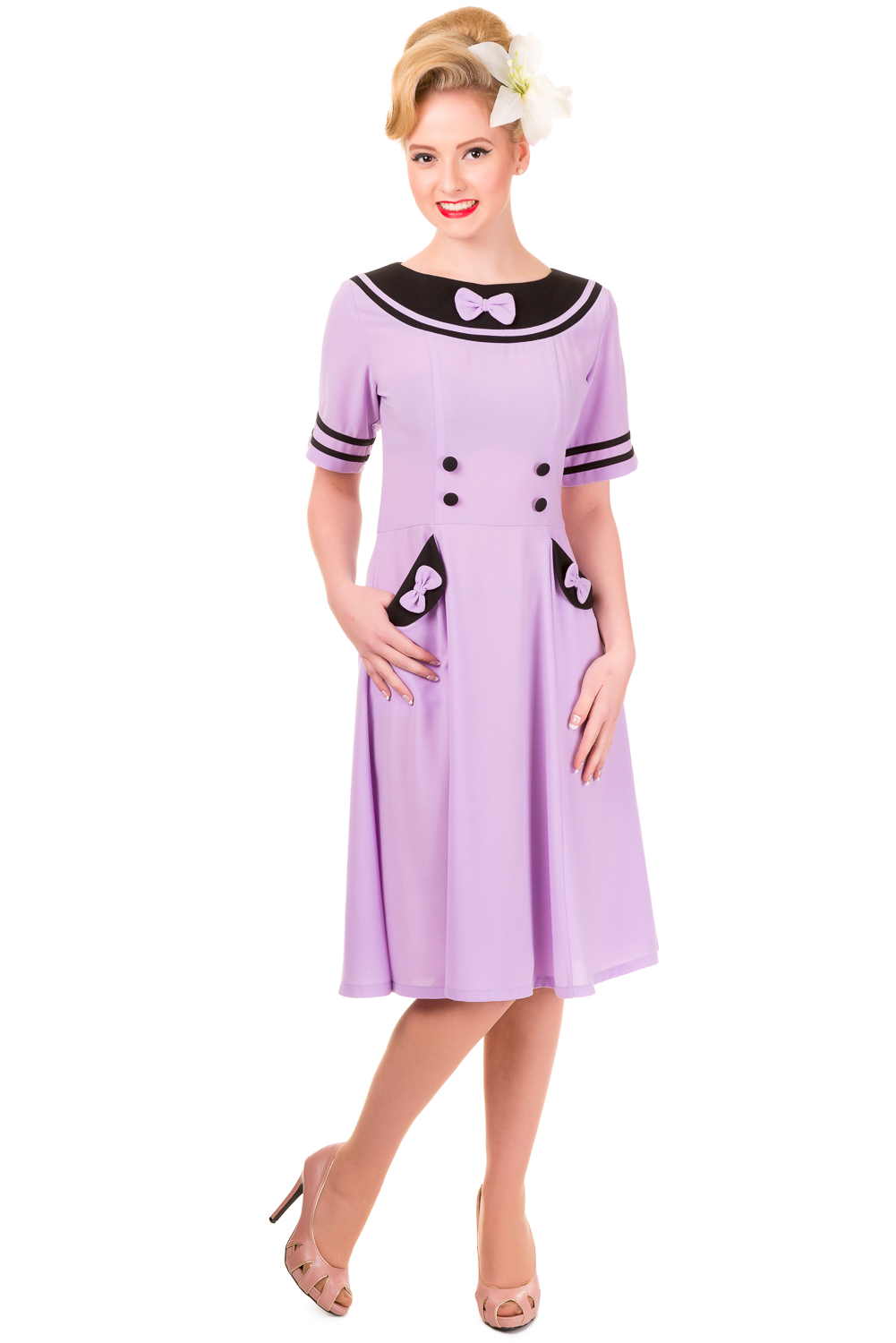 Banned Eliza Lavender Dress