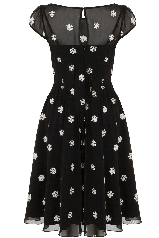 Voodoo Vixen Snowflake Dress