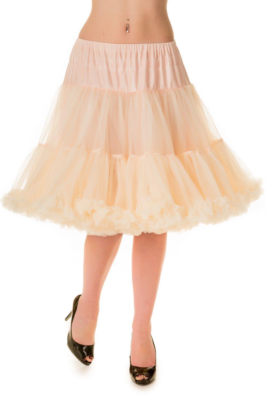 Banned Retro 50s Starlite Champagne Petticoat