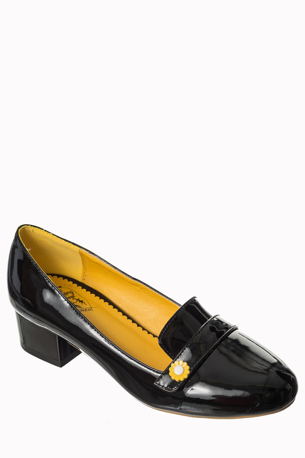 Dancing Days Little Wonder 60s Black Loafer Shoes