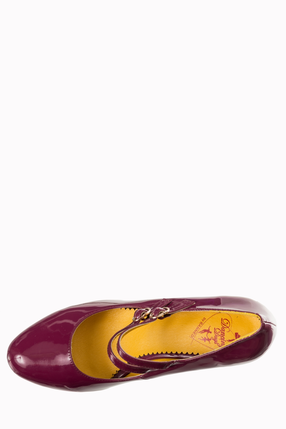 Dancing Days Golden Years 60s Patent Magenta Shoes