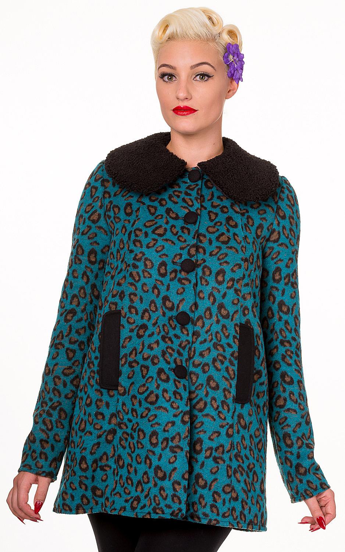 Banned Don't Wait Leopard Print Fur Coat