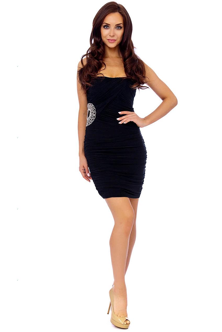 Panache Boutique Isabella Black Dress