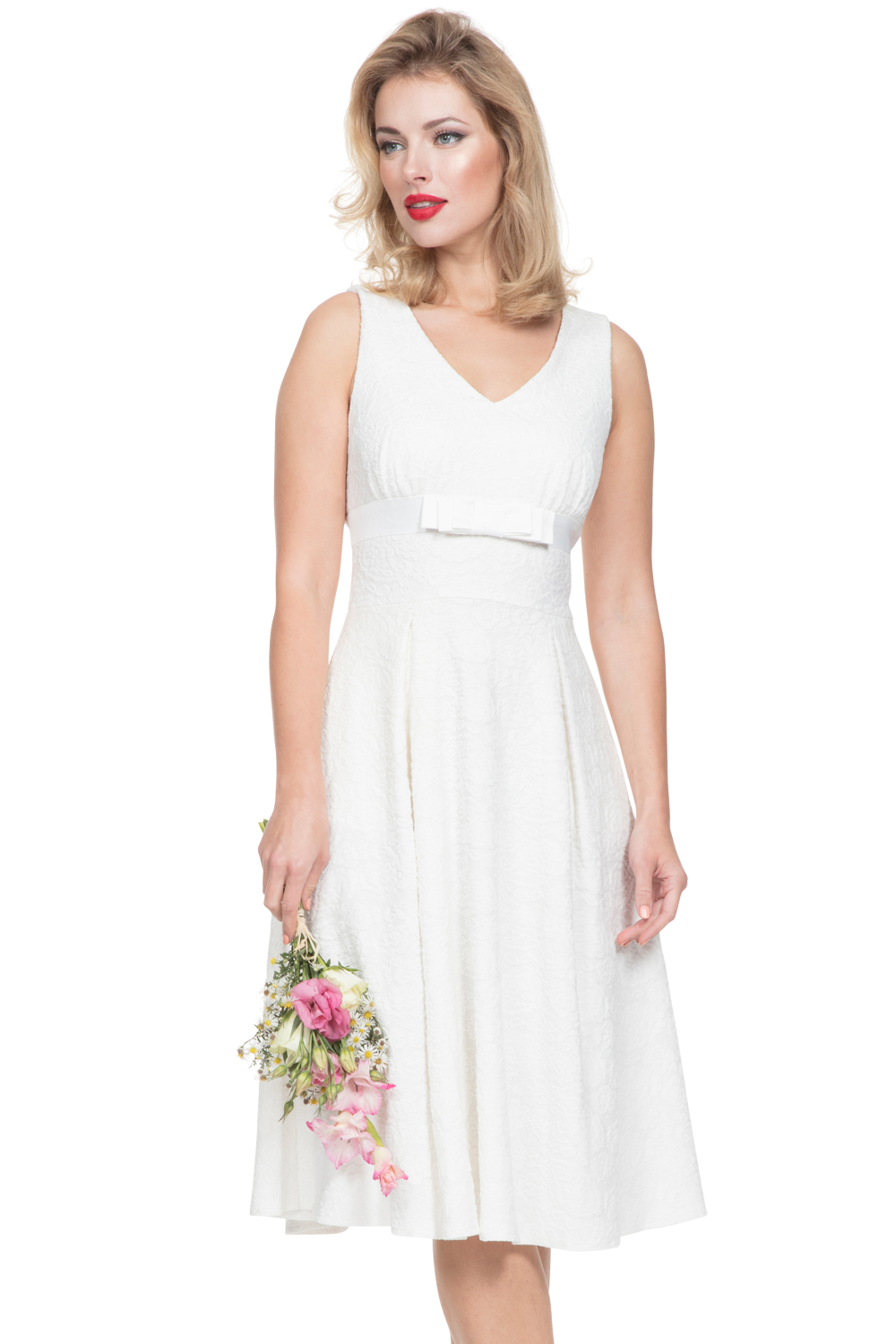 Lauren White Dress Bridal Link