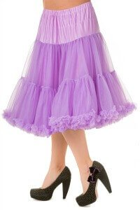 Banned Lavender Lifeforms 26 Inch Petticoat