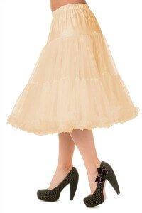 Banned Retro 50s Lizzy Lifeforms Champagne Petticoat