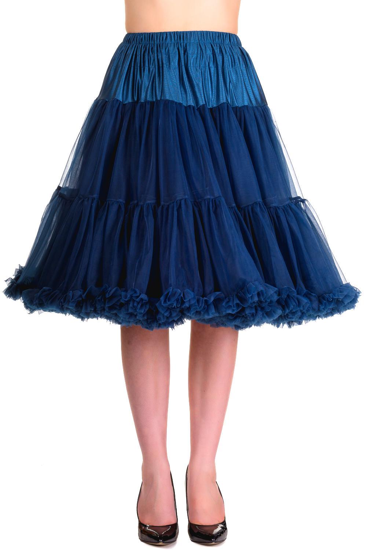Banned Retro 50s Starlite Navy Petticoat