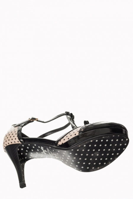 Dancing Days Black One Note Samba 50s Shoes