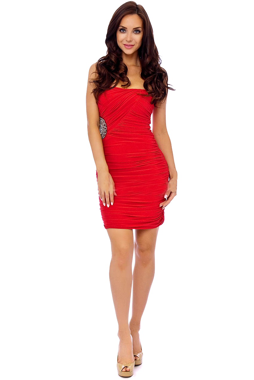 PDUK Isabella Red Dress
