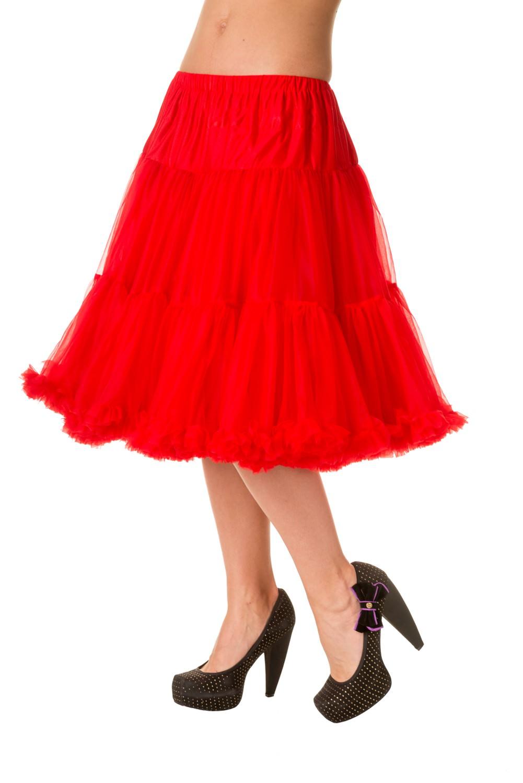 Banned Retro 50s Starlite Red Petticoat