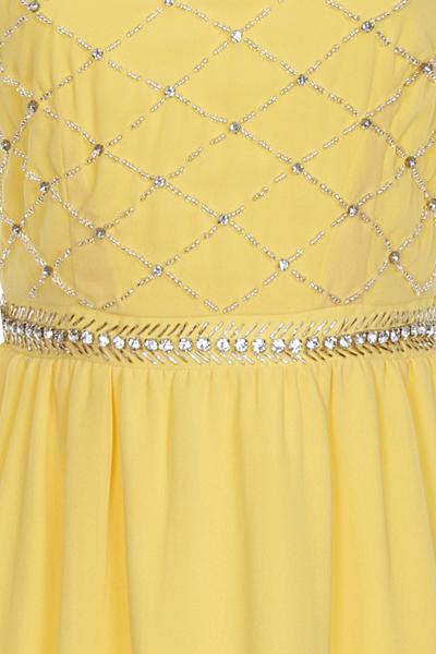 Hana Yellow Hana Prom Dress