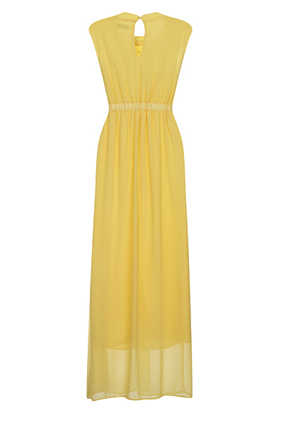 Yellow Lizzie Maxi Prom Dress - Nazz Collection