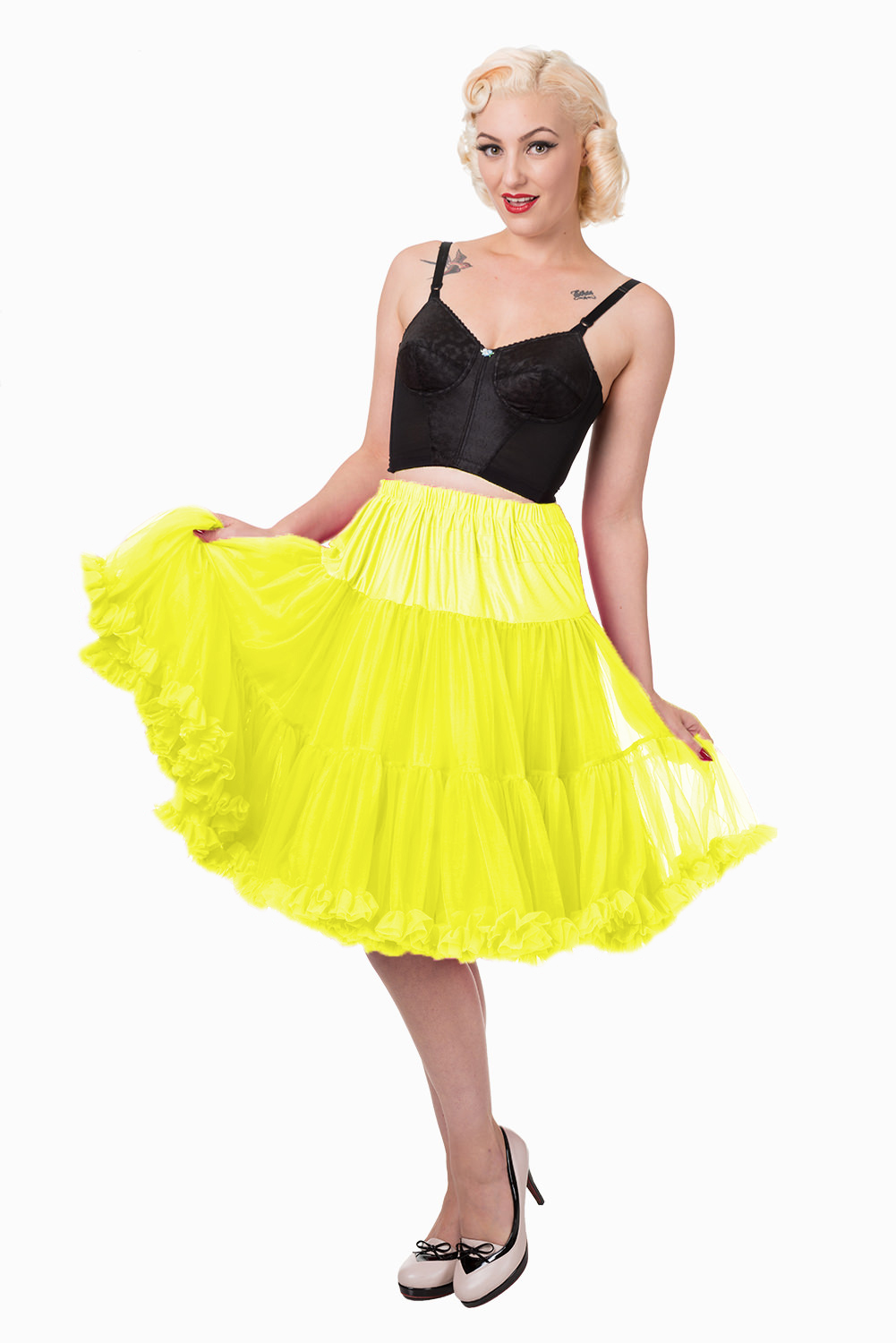 Banned Retro 50s Starlite Yellow Petticoat